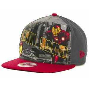 New Era Iron Man Hero Postcard Snapback Hat